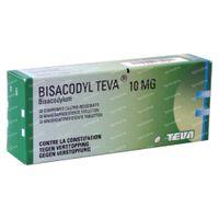Bisacodyl Teva 10mg 30  dragees