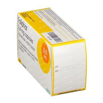 Foliphar 0.4mg Foliumzuur 84 capsules