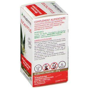 Arkogelules Eucalyptus Vegetal 45 capsules