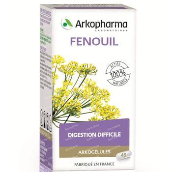Arkogelules Fenouil Vegetal 45 capsules