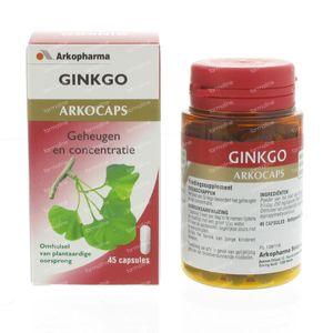Arkocaps Gingko Biloba 45 capsules