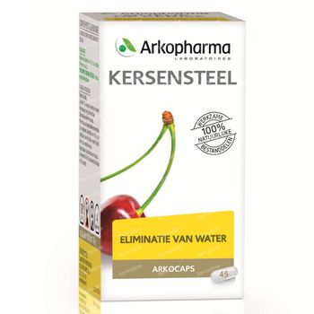 Arkocaps Kersensteel Plantaardig 45 capsules