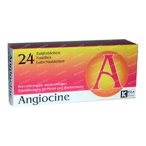 Angiocine 24 zuigtabletten
