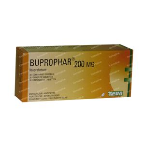 Buprophar 200mg 30 tabletten