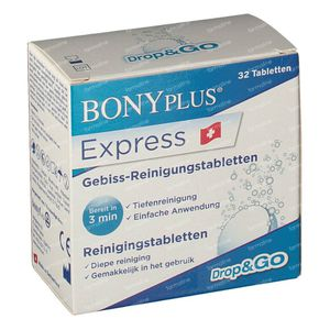 Bony Plus Express Reiniging 32 tabletten