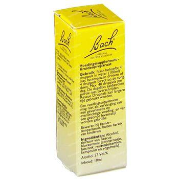 Bach Flower Rescue 10 ml druppels