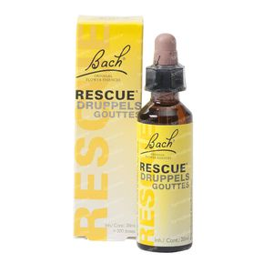 Bach Bloesem Rescue 20 ml gouttes