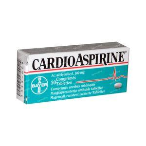 CardioAspirine 100mg 30 tabletten