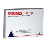 Asaflow 80mg 56  tabletten
