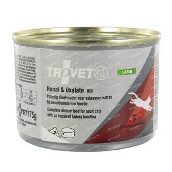 Trovet RID Renal & Oxalate Chat (Agneau) 175 g