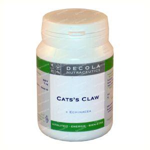 Decola Cat's Claw Echinacea 500mg 60 comprimés