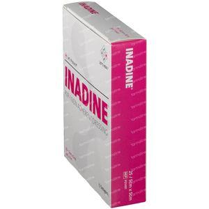 Inadine PVP 5cm x 5cm 25 pièces