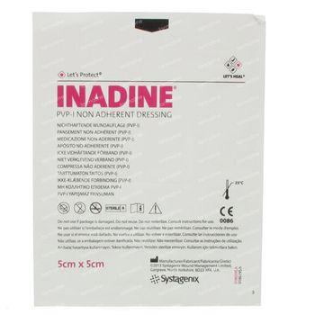 Inadine PVP 5cm x 5cm 1 pièce