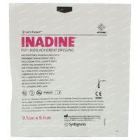 Inadine PVP 9,5cm x 9,5cm 1 st