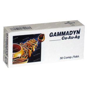 Unda Gammadyn CU AU AG 30 Tabl. 30  tabletten