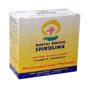 Marcus Rohrer Spirulina Ricariche 540  Compresse