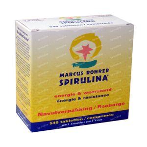Marcus Rohrer Spirulina Navulling 540  tabletten