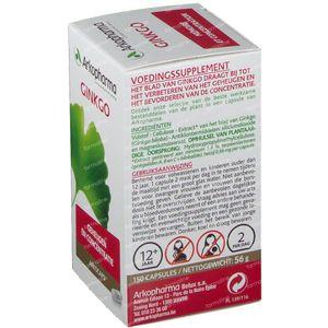 Arkocaps Ginkgo Biloba Plantaardig 150 capsules