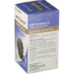 Arkogelules Artichoke Vegetal 150 capsules