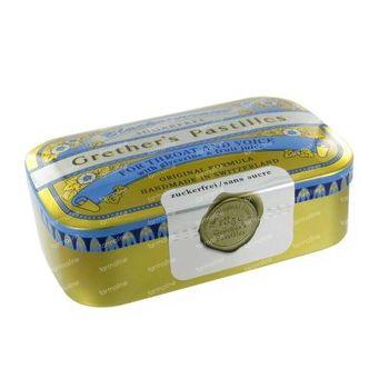 Grethers Pastilles Blackcurrant Sans Sucre 110 g