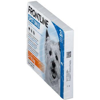 FRONTLINE Spot On Puces et Tiques Chien S 3 pipette(s)