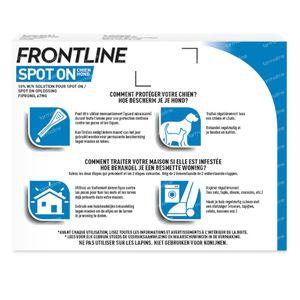 FRONTLINE Spot On Vlooien en Teken Hond S 3 pipet(ten)