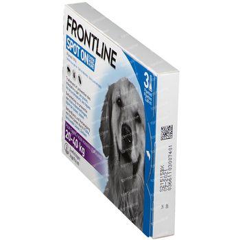 Frontline Spot On Puces et Tiques Chien L 20-40kg 3 pipette(s)