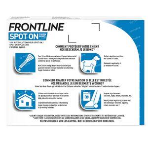 FRONTLINE Spot On Puces et Tiques Chien L 3 pipette(s)