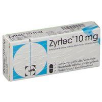 Zyrtec 10mg 7  tabletten