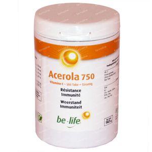 Be-Life Acerola 750 Vitamines 60 pièces