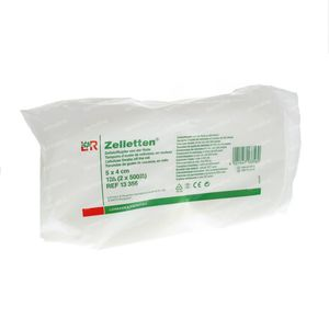 Lohmann & Rauscher Zelletten Tampons Cellulose 5x4cm 13356 2x500 pièces