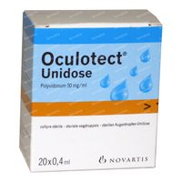 Oculotect Collyre 8 ml unidosis