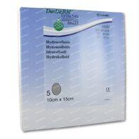 Duoderm Extra Dun Verband Hydro Ovaal 10cm x 15cm 5 st