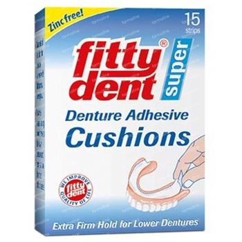Fittydent Coussins Adhesive 15 pièces