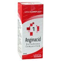 Vanocomplex 1 Anginacid Belladonna 50 ml druppels