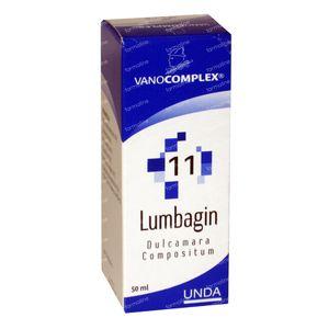 Vanocomplex 11 Lumbagin Dulcamara 50 ml
