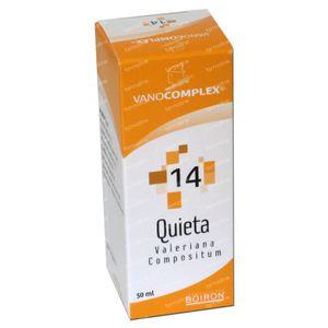 Vanocomplex 14 Quieta Valeriana 50 ml druppels