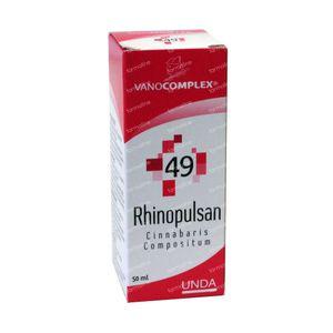 Vanocomplex 49 Rhinopulsan Cinnabaris 50 ml druppels