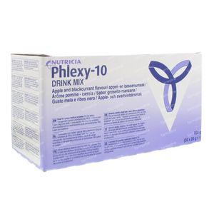 Nutricia Phlexy 10 Drink Mix Zwarte Bes - Appel 600 g