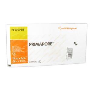 Primapore Bandage Post-opératoire 15cmx8cm 66000318 1 pièce