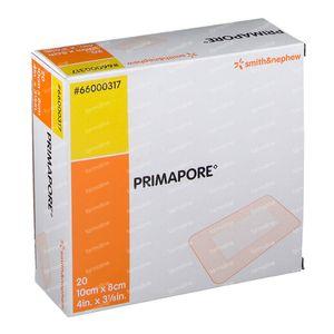 Primapore S&N Pans Post-Op 10cm x 8cm 10 pièces