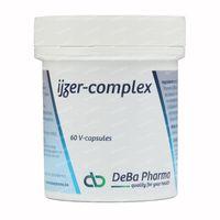 Deba Pharma IJzer Complex 25mg 60  capsules