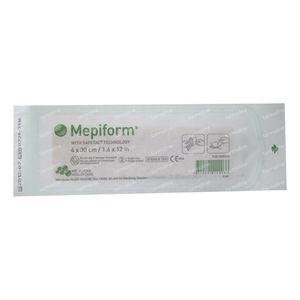 Mepiform Self-Adhesive Bandage Anti-Scarfs 4cm x 30cm 1 St
