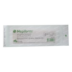 Mepiform Zelfklevend Verband Anti-Litteken 4cm x 30cm 1 stuk