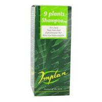 Implan 9 Plants Extract Verde Shampoo 125 ml