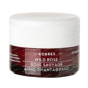 Korres Wild Rose Hydraterende & Verhelderende Crème 40 ml crème