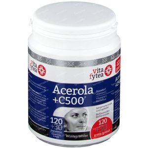 Vitafytea Acerola Vitamine C 500 + 30 Tabletten GRATIS 120+30 zuigtabletten