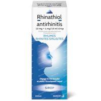 Rhinathiol Antirhinitis 10mg+4mg/10ml - Rhumes 200 ml sirop