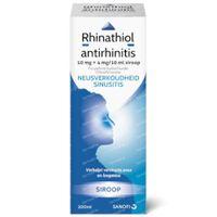 Rhinathiol Antirhinitis 10mg+4mg/10ml - Verkoudheid 200 ml siroop