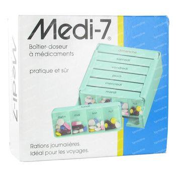 Medi-7 Pilullier Semaine 1 pièce